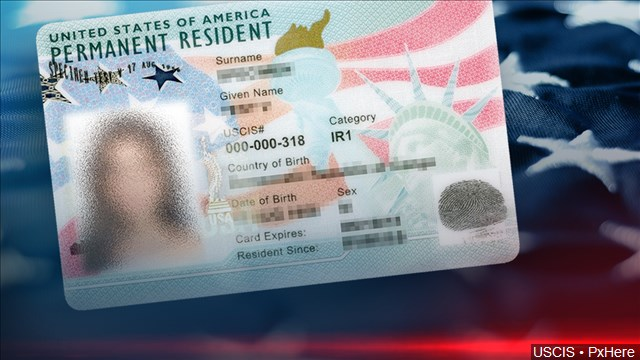 permanent resident card in Vancouver, BC